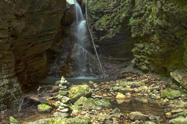 Erleben Wasserfall
